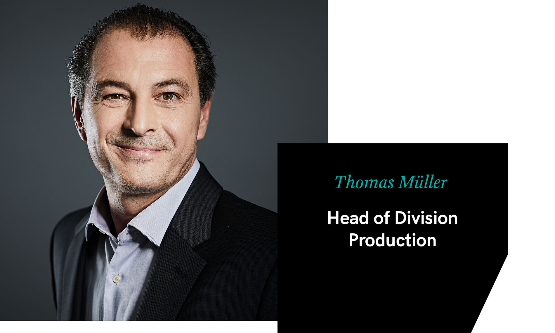 Thomas Müller – Head of Production