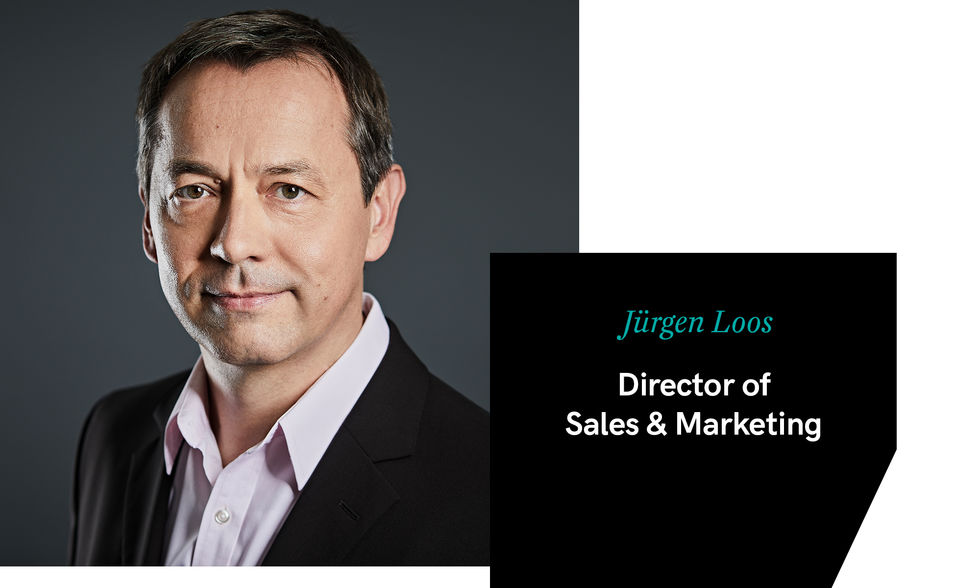 Jürgen Loos – Director of Sales and Marketing